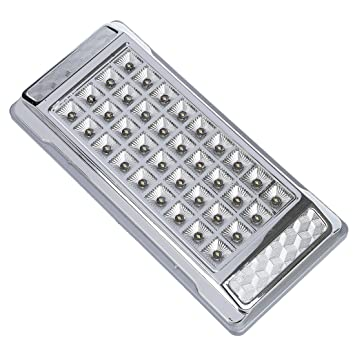 a7cdd5ed4ba SODIAL(R) Lampara Luz Blanca 36 LED 12V CC para Techo Interior del Coche   Amazon.es  Coche y moto