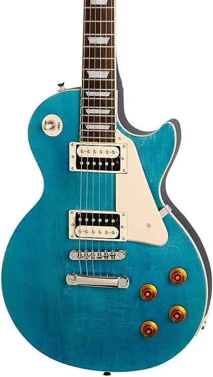 Edición limitada Epiphone Les Paul Traditional PRO-II guitarra eléctrica océano azul Burst