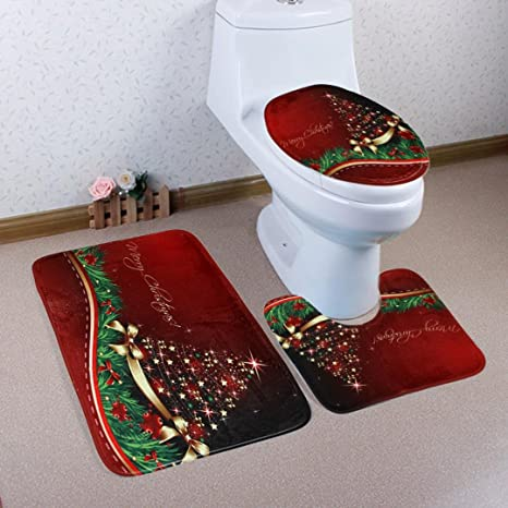 Amazon.com: elaco Inodoro Tapa asiento baño Tapa Alfombrilla ...