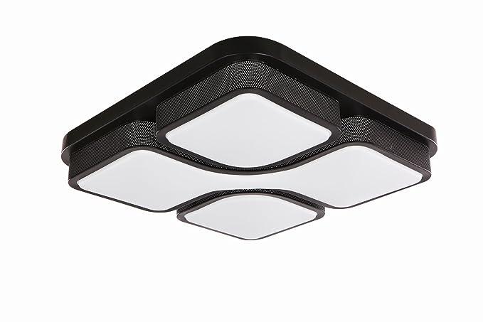 Plafoniera Per Soggiorno Bianco : Mctech w led moderna plafoniera pannello luminoso di soffitto