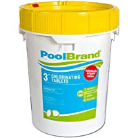 Pool Brand Swimming Stabilized Chlorine Tablets, Commercial Grade