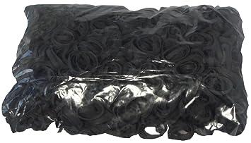 1 kg Gummiringe schwarz 40 mm /Ø 1,2 x 4 mm breit Haushaltsgummis Gummib/änder Fa.ars