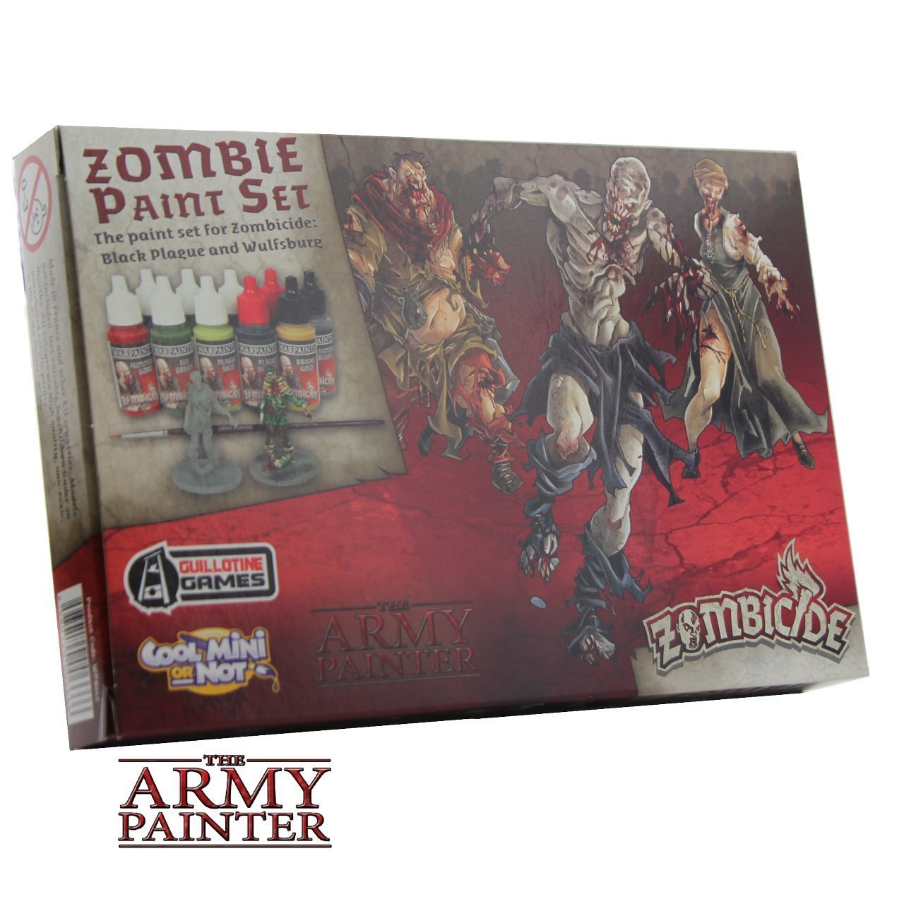 Kit de Peinture Zombicide, Paquet de 10 The Army Painter 8012