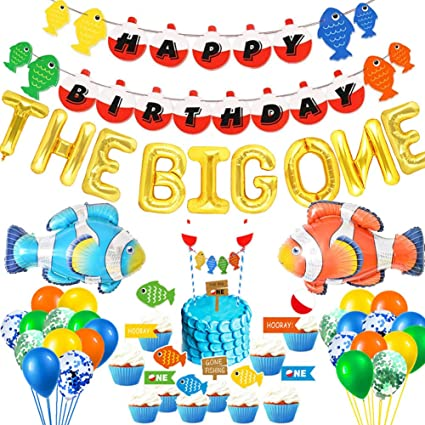 Fishing Theme First Birthday Bobber Place Cards Big One 1st Birthday Party Table Decorations