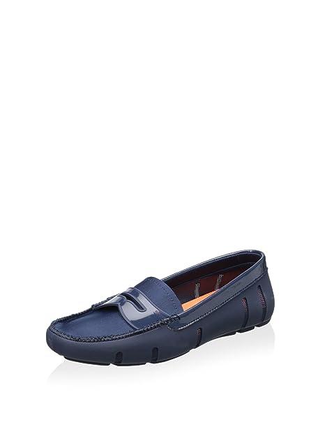 Swims - Mocasines para Mujer Azul Azul Marino: Amazon.es: Zapatos y complementos