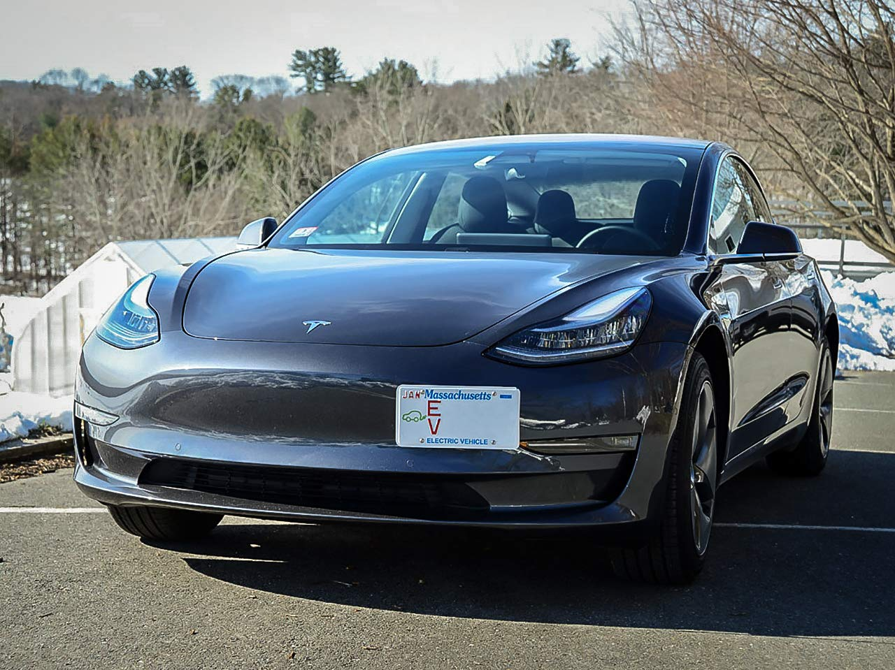 CravenSpeed Platypus License Plate Mount for Tesla Model 3 2017-2019 | No Drilling | Made of Stainless Steel & Aluminum | Made in USA by CravenSpeed (Image #9)
