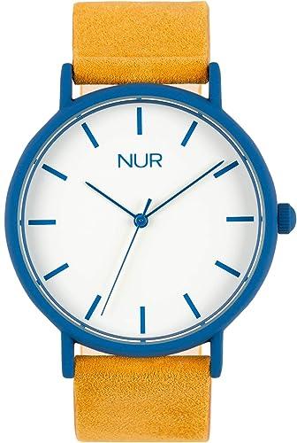 Nur Gaia - El Reloj de Hombre o Reloj de Mujer Perfecto para Regalo. Un