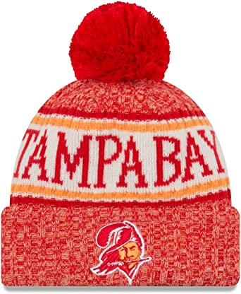 New Era NFL Tampa Bay Buccaneers 2018 Sideline Sport Knit