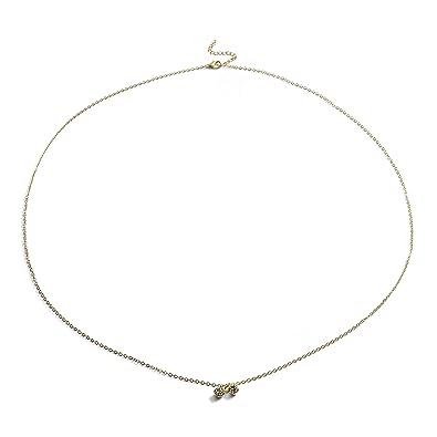 86ee0452ac8 Amazon.com: KOOMAGIC Womens Crystal Bikini Belly Body Chain Waist Link  Fashion Beach Necklace Jewelry (Gold): Jewelry