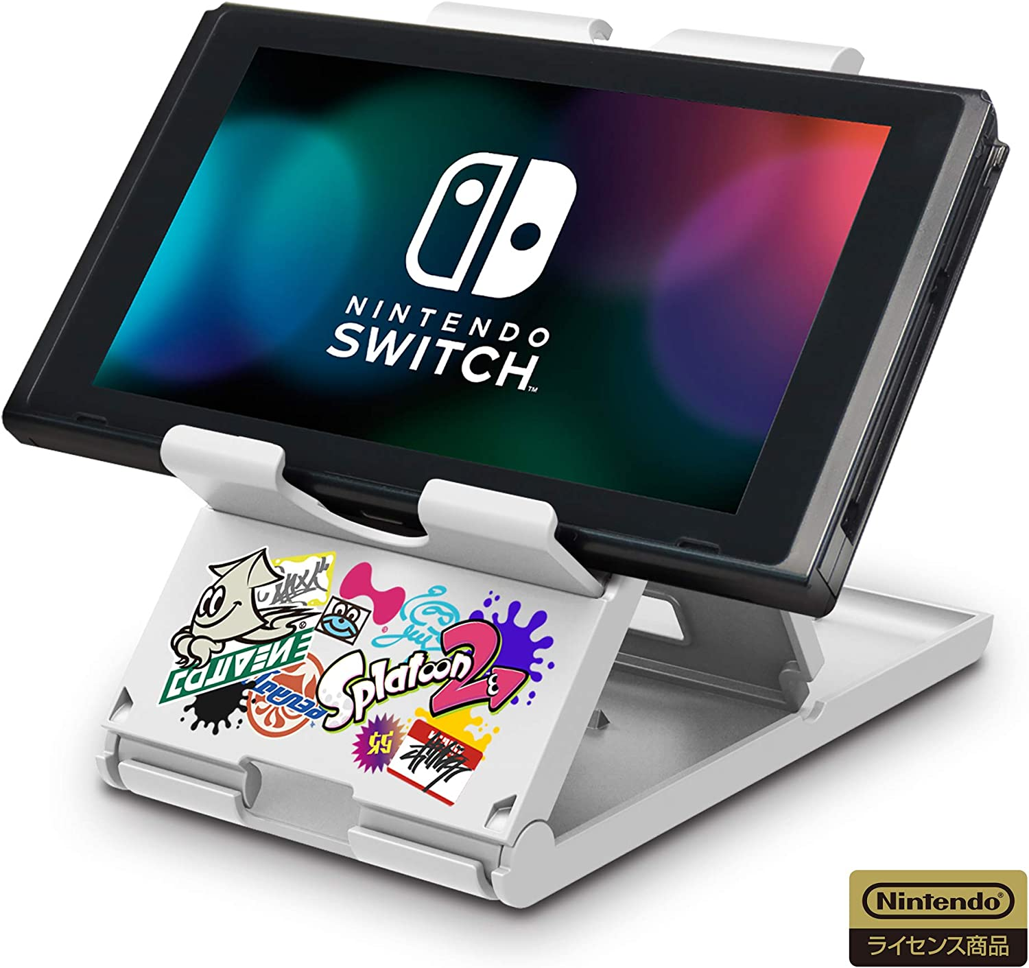 HORI Play Stand Dock For Nintendo Switch Splatoon 2 Edition: Amazon.es: Electrónica