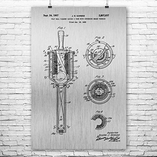 Amazon Com Patent Earth Golf Ball Washer Poster Print Golf Art Golf Gifts Golf Art Print Golf Decor Golf Wall Art Golf Caddie Gift 11 Inch X 14 Inch Posters Prints