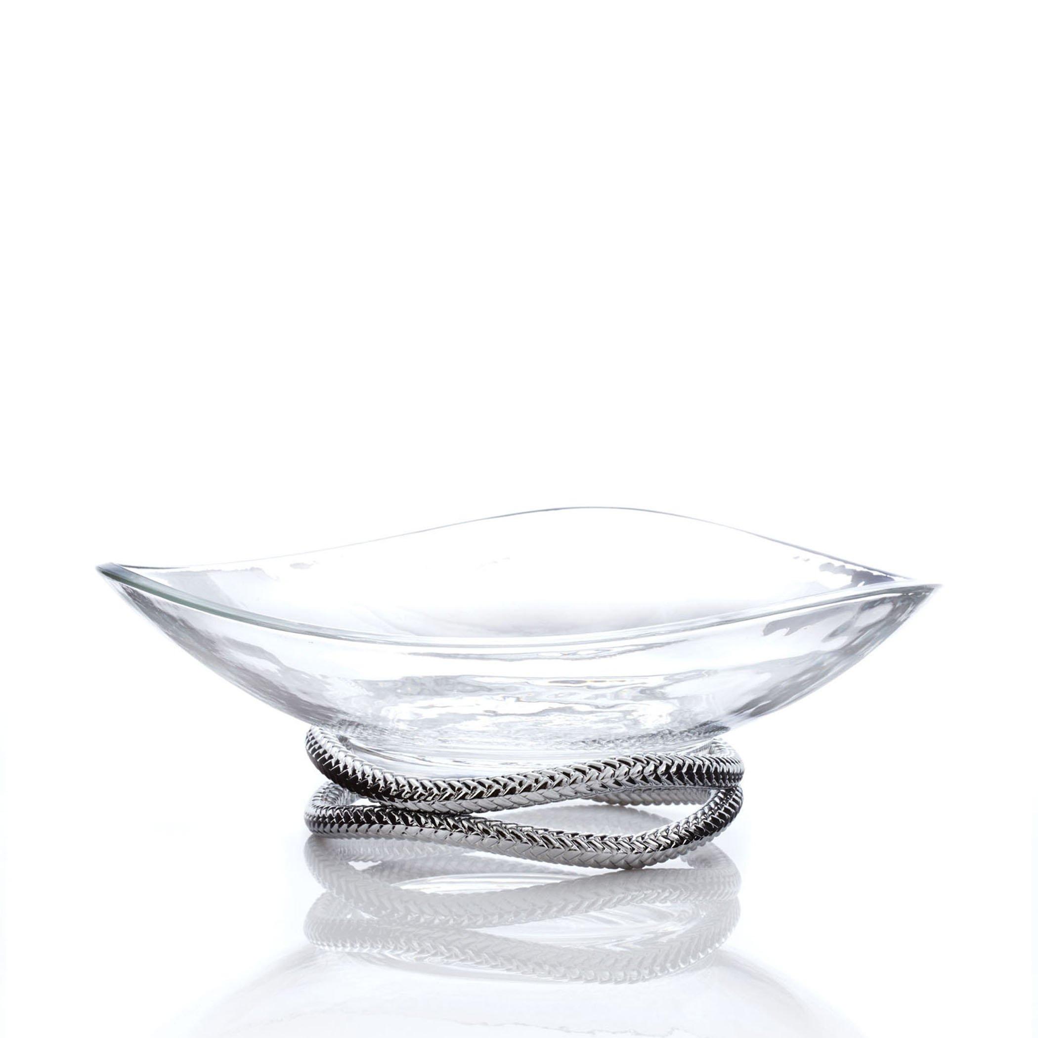 Nambè Braid Centerpiece Bowl
