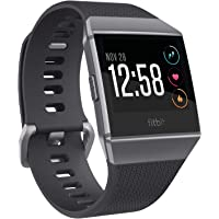 Fitbit Ionic Smart Fitness Watch - Charcoal/Smoke Grey