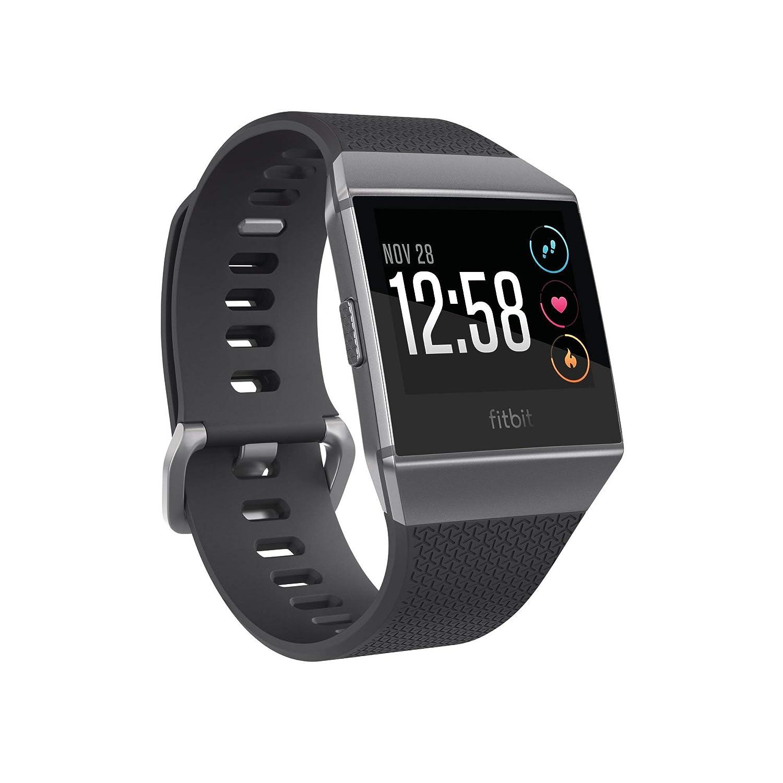 Fitbit Ionic FB503GYBK Smartwatch (Smoke Gray)