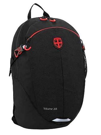 7e111a0a7b58 Ellehammer Urban Explorer Rucksack 20 Liter Backpack, Leergewicht 480g,  schwarz 30,5 x