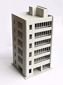 outland models Railway Scenery Layout Downtown City Office Building N Scale