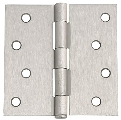 Design House 202606 x 4 in. Satin Nickel Square Corner Door Hinge, on house layout, house designing, house schematics, house print, house paint, house desings, house style, house exterior, house rooms, house color, house blueprints, house template, house cutout, house map, house diagram, house logo, house drawing, house types, house interiors, house plans,