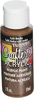 product image for DecoArt Crafter's Acrylic Paint, 2-Ounce, Cafe Mocha