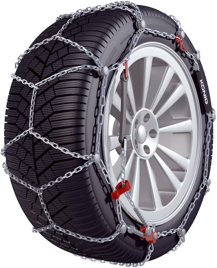 Thule 04335097 CD-10 Size-97 10mm Super-Premium Passenger Car Snow Chain