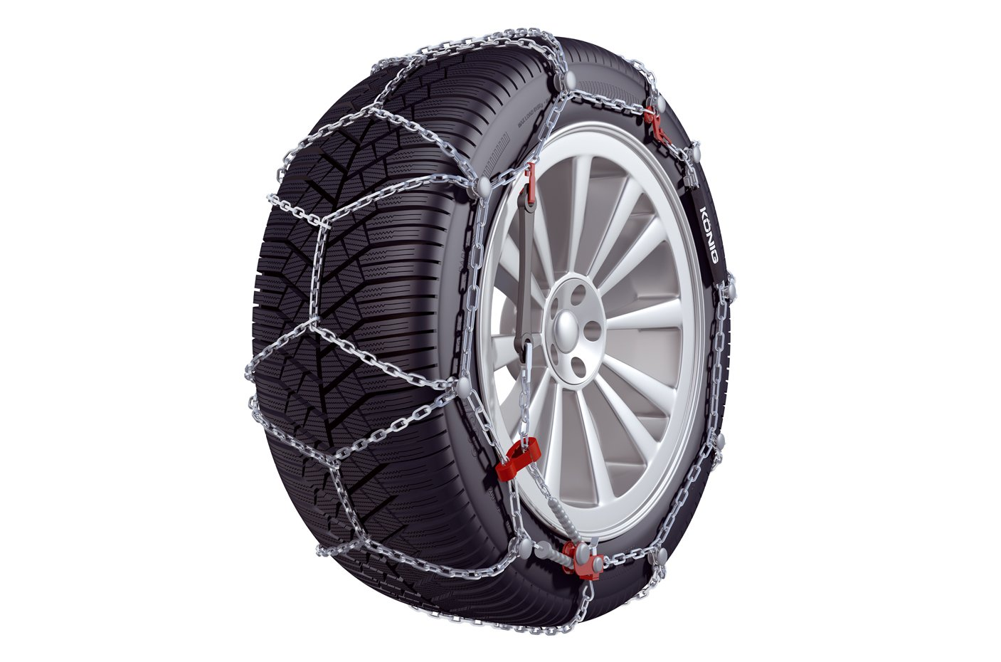 KÖ NIG CD-9 104 Snow chains, set of 2 Thule GmbH. 2004305104