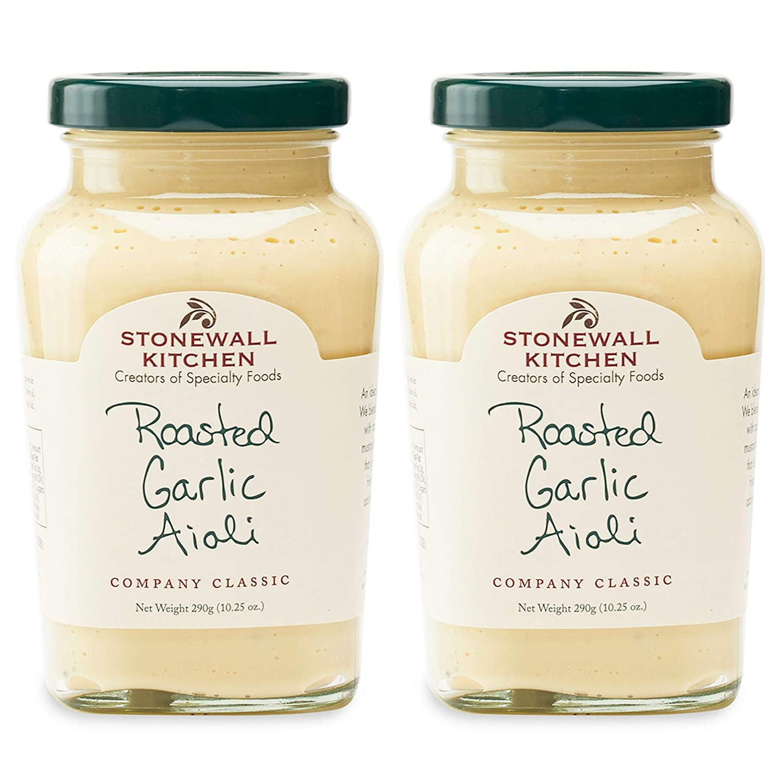 Stonewall Kitchen Roasted Garlic Aioli, 10.25 Ounce (Pack of 2)