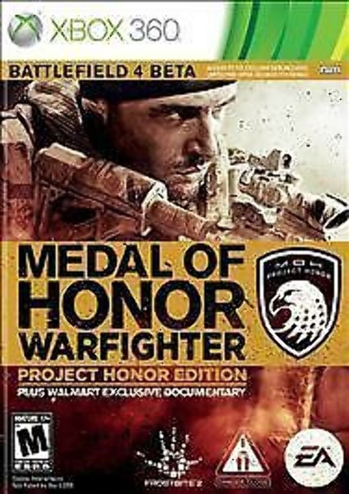 Amazon.com: Medal of Honor Warfighter Project Honor Edition (Xbox ...