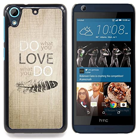 """For HTC Desire 626 Case , Máquina de escribir texto Escritor Poor Inspiring"""" - Diseño"""