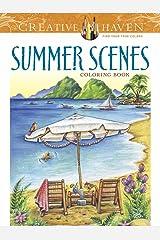 Creative Haven Summer Scenes Coloring Book (Adult Coloring)