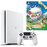 PlayStation 4 グレイシャー・ホワイト 500GB (CUH-2100AB02)【数量限定特典 New みんなのGOLF ダウンロード版付】