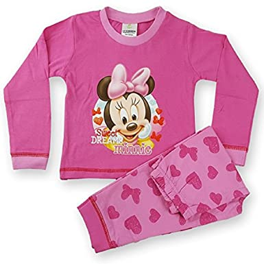 77fb1ff04 Baby Girls Minnie Mouse  Sweet Dreams Minnie  Long Length Pyjamas ...