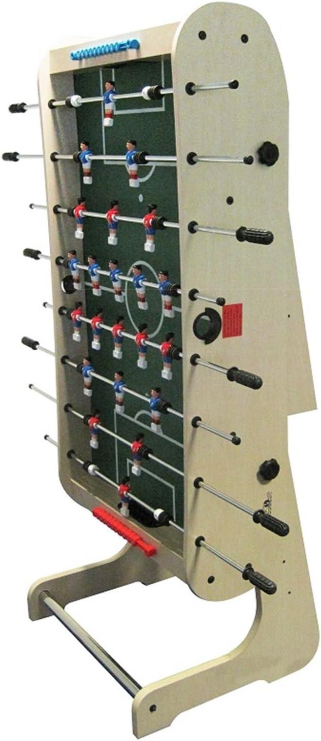 Riley HFT-5N Mesa de futbolín Plegable (Dimensiones de 167 x 132 x ...