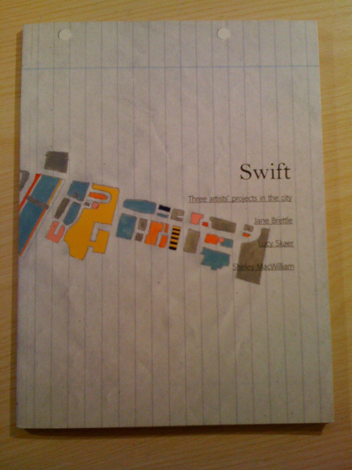 Swift: Three Artists' Projects in the City - Jane Brettle