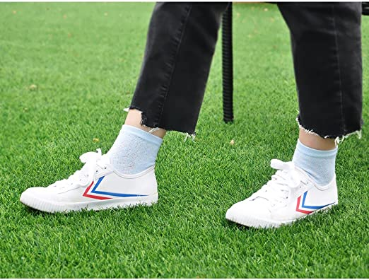PUTUO Mujer cinco dedos calcetines de deporte, Calcetines de dedos mujer calcetines de algodón, suave y transpirable, EU36-42, 5 pares: Amazon.es: Ropa y accesorios