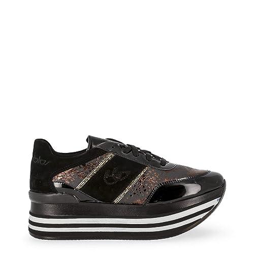 Blu Byblos Scarpe Basse Sneakers Donna Nero (687010): Amazon