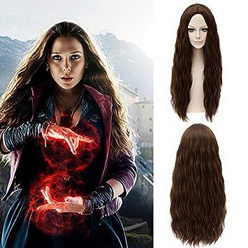 Amazoncom Xcoser Avengers Scarlet Witch Wanda Maximoff Cosplay