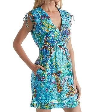 2f346bac8a14f Lauren Ralph Lauren Women s Printed Tie-Shoulder Swimwear Cover-Up ...