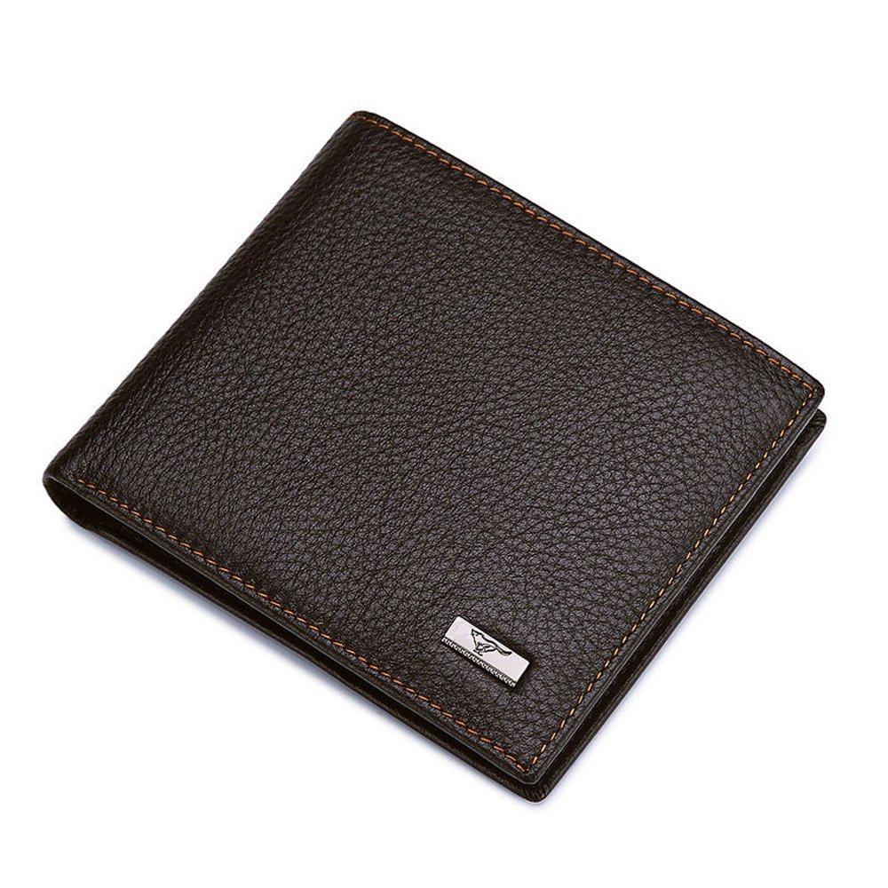 SEPTWOLVES - Billetera de piel para hombre con bloqueo RFID ...