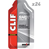 CLIF SHOT - Energy Gel - Double Espresso - (1.2 Ounce Packet, 24 Count)