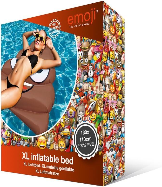Otto Simon Emoji Inflable Flotador Caca, Piscina y Playa: Amazon.es: Juguetes y juegos