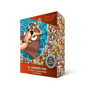 Emoji Inflable Flotador Caca, piscina y playa: Amazon.es: Juguetes y juegos