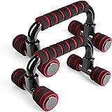TotalFitness プッシュアップバー 腕立て伏せ 器具 筋トレグッズ 筋肉トレーニング 筋力アップ 滑りにくい 簡単組立式