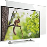 サンワダイレクト 液晶テレビ保護パネル 58インチ対応 アクリル製 テレビガード クリア 200-CRT023