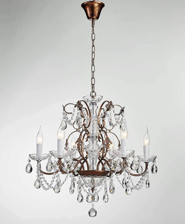 Saint mossi modern k9 crystal raindrop chandelier lighting flush mount led ceiling light fixture pendant lamp for dining room bathroom bedroom livingroom 6