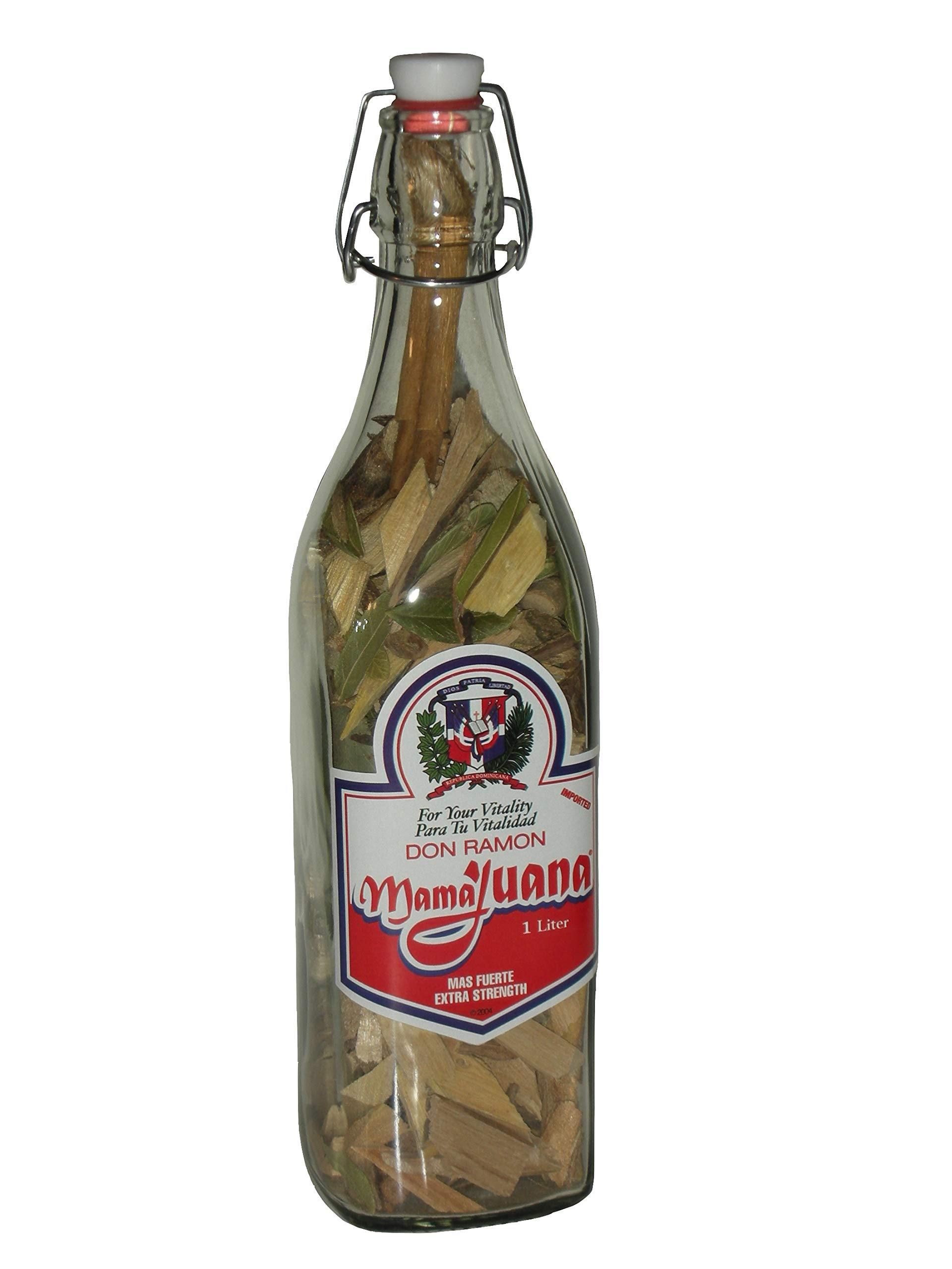 MAMAJUANA FOR MEN ONLY with CLAVO+ KNOWN TESTOSTERONE PRODUCTION STIMULATION 1000 ML / 34 OZ. BOTTLE
