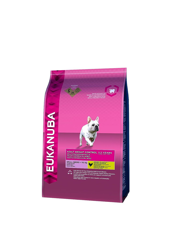 Eukanuba Croquette Contrôle du Poids pour Chien Petite 3 kg 8710255120218