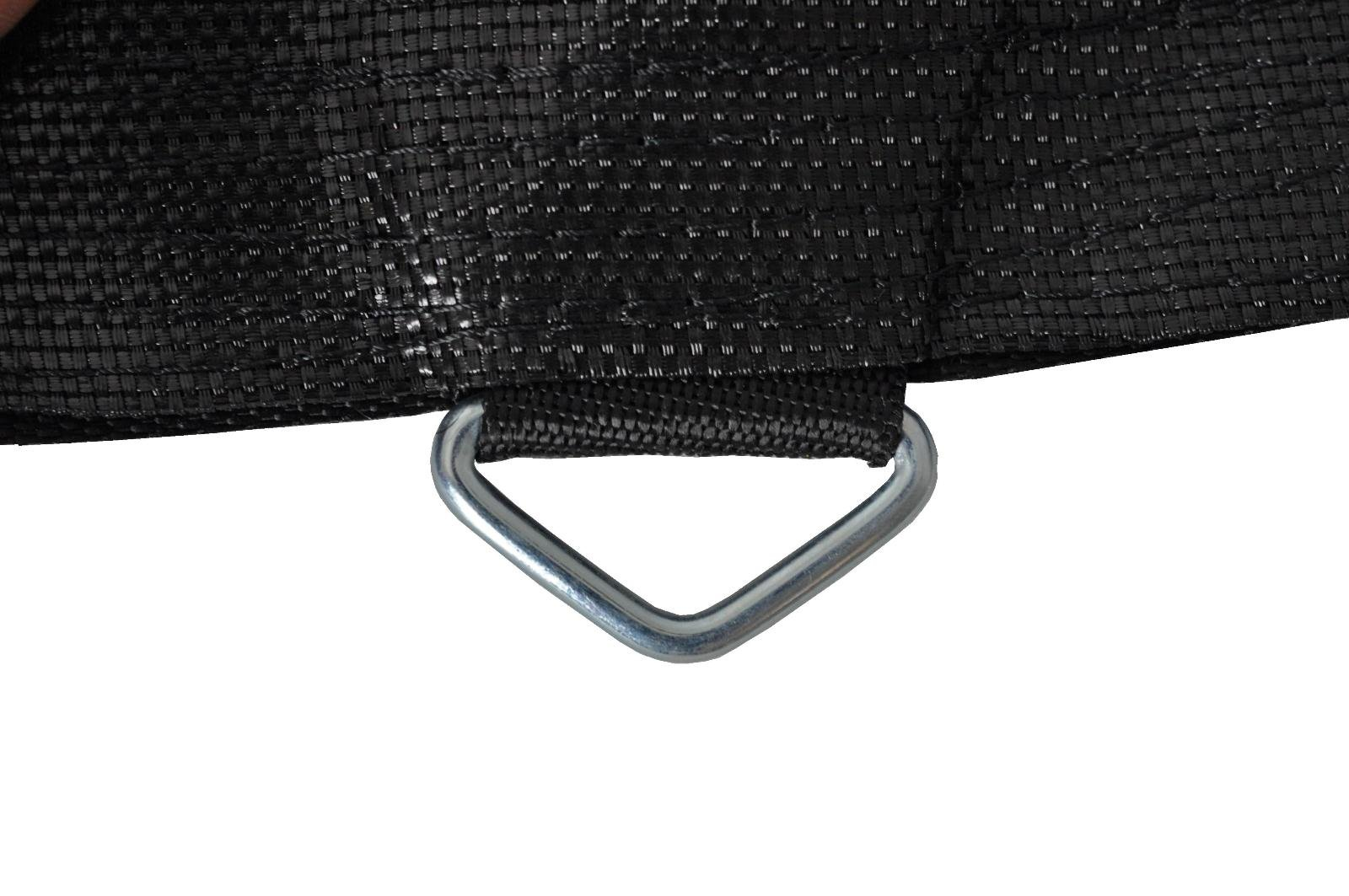 Trampoline Replacement Jumping Mat, fits for 14 FT. Round Frames with 96 V-Rings, Using 7'' springs -MAT ONLY by Upper Bounce (Image #3)