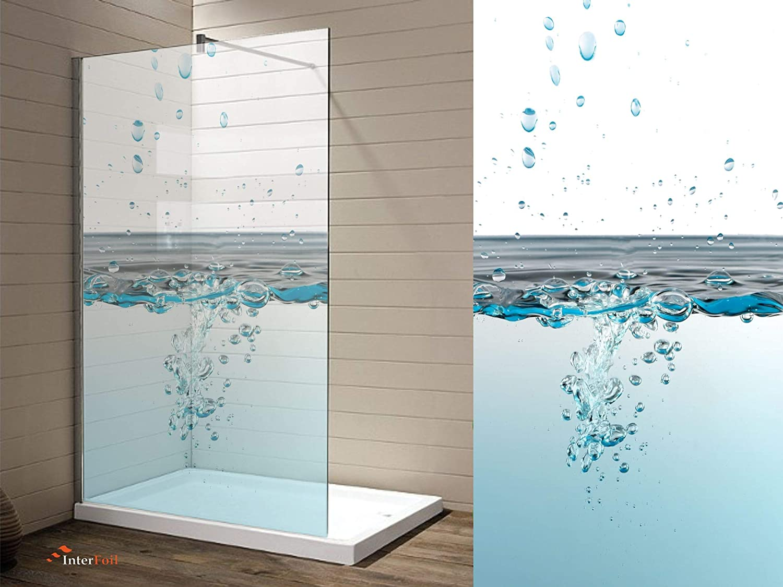 Graz Design - Adhesivo Decorativo para mampara de Ducha (Efecto ...