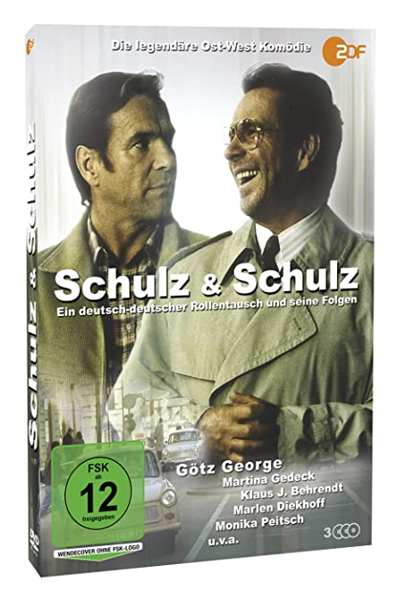 Schulz Schulz 3 Dvds Amazon De Gotz George Martina Gedeck