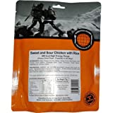 Expedition Foods Sweet and Sour Chicken with Rice (High Energy Serving)