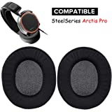 Arctis Pro Earpads Replacement Ear Pads Cushions Muffs Repair Parts Compatible with SteelSeries Arctis Pro Wireless Gaming Headset.